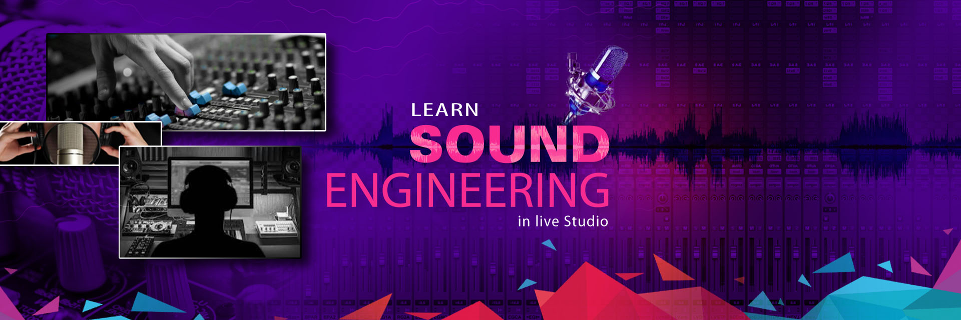 Learn Sound Engineering courses in kolkata
